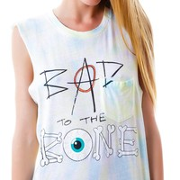 Bad To The Bone Muscle Tank
