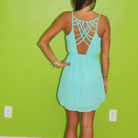 Summer Breeze Dress: Mint