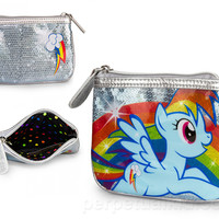 MY LITTLE PONY RAINBOW DASH COIN BAG