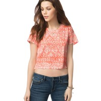 Diamond Southwest Cropped Tee