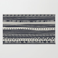 aztec Area & Throw Rug by spinL