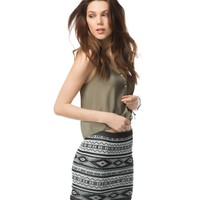 Southwestern Body Con Skirt