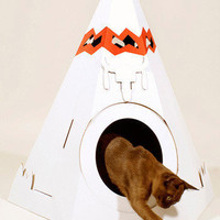 The Purr-fect Place in Tipi | Mod Retro Vintage Pet Accessories | ModCloth.com $25