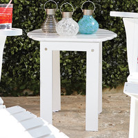 Weather-Resistant Adirondack Side Table