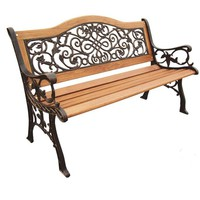 Sienna Camelback Outdoor Park Bench