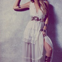 Free People Gianna's White Limited Edition Gown