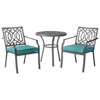 Threshold™ Harper 3-Piece Metal Patio Bistro Set