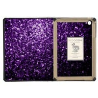 Beautiful Purple glitter sparkles DODOcase iPad Mini Case