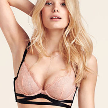 Strappy Back Unlined Plunge Bra - Very Sexy - Victoria's Secret