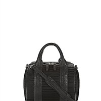 Black Rockie In Mesh Black With Rhodium - Alexander Wang
