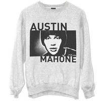 PHOTO SQUARE CREW NECK SWEATSHIRT