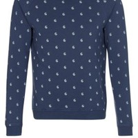 Selected Homme Sweatshirt - blue - Zalando.co.uk