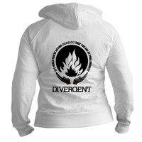 CafePress Divergent - At Your Bravest Fitted Hoodie Jr. Hoodie