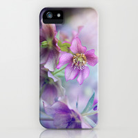 hellebore iPhone & iPod Case by Sylvia Cook Photography