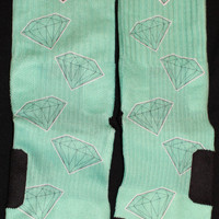 Diamonds are Forever Tiffany Nike SB Dunk Custom Nike Elites