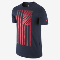 Nike U.S. Core Plus Men's T-Shirt - Obsidian