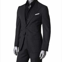 Tailor Made Men Slim Fit Suit - Buy Tailored Suits For Men Product on Alibaba.com