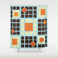 Invigorate Shower Curtain by Ramon Martinez Jr