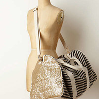 Striped & Sequined Weekender