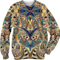 Sweatshirt Drawing Floral Zentangle G2