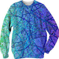 Sweatshirt Grunge Art Abstract G4