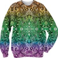 Sweatshirt Drawing Floral Zentangle G13