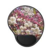 White and pink spring blossom in Wales from Zazzle.com