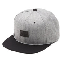Vans x Starter Blackout Snapback Hat (Heather Grey/Black)