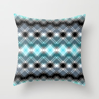 chequered dreams Throw Pillow by Webgrrl | Society6