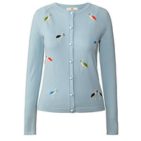 Orla Kiely - Flamingo Embroidery Cardigan