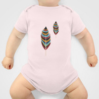 Feather Art Onesuit by Uma Gokhale | Society6