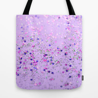 Speckled Spring Tote Bag by Lisa Argyropoulos | Society6