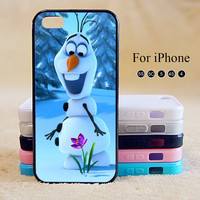 Olaf,Frozen Anna,iPhone 5 case,iPhone 5C Case,iPhone 5S Case, Phone case,iPhone 4 Case, iPhone 4S Case,Case