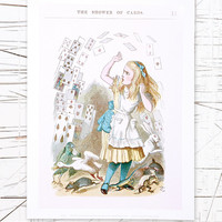 Alice Cards Wall Art - Urban Outfitters