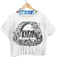 Karma Crop Shirt