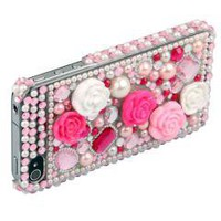 Rhinestone Case Cover for iPhone 4 4S free shipping
