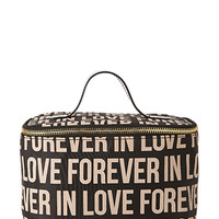Forever In Love Travel Makeup Case