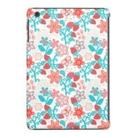 Cool Summer Floral Fabric iPad Mini Retina Case