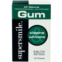 Supersmile whitening gum-12 pieces