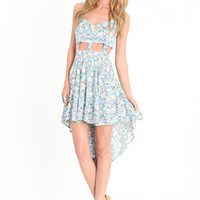 Floral Madness Cutout Dress by Reverse