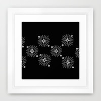 Bursting Again Framed Art Print by Jensen Merrell Designs | Society6