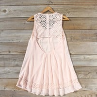 Sage Shadows Dress in Peony