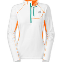 The North Face Women's Shirts & Tops WOMEN'S IMPULSE ACTIVE 1/4 ZIP