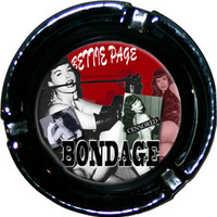 Bettie Page- Bondage Ashtray (Glass) - Ashtrays