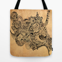 Labyrinth Tote Bag by DuckyB (Brandi)
