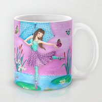 Fairytale Ballerina Mug by Cartita Design