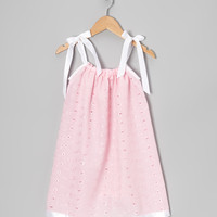 Pink Eyelet Swing Dress - Infant, Toddler & Girls | something special every day