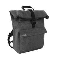 MONOQI | Roll Top Backpack - Dark Grey
