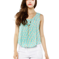 Papaya Clothing Online :: DAISY NECKLACE BACK TIE CHIFFON TOP