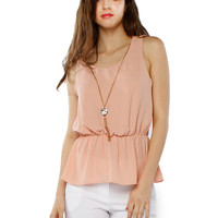 Papaya Clothing Online :: HEART NECKLINE CHIFFON TOP